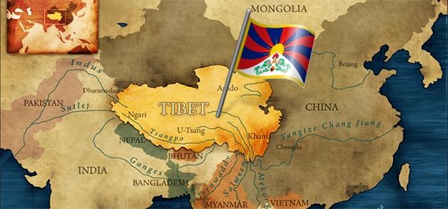 tibet-flag-map-2015